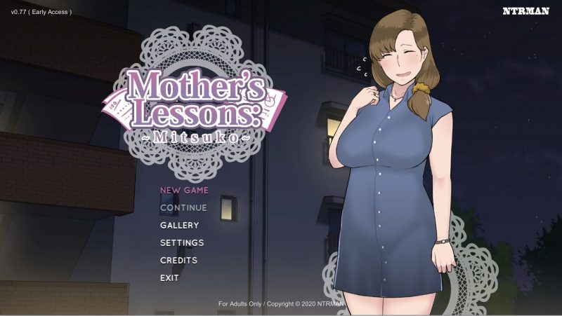 Mother's Lesson - Mitsuko - Version 0.8a