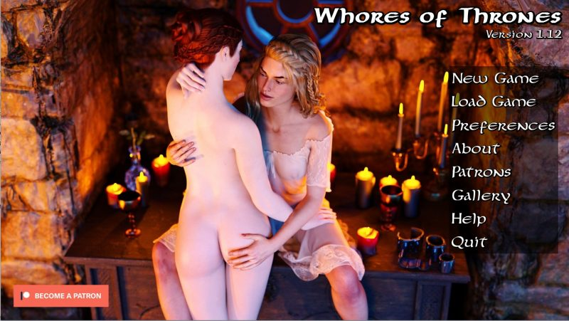 Whores of Thrones - Version 1.12 (Pc, Mac) + Incest Patch + CG Images