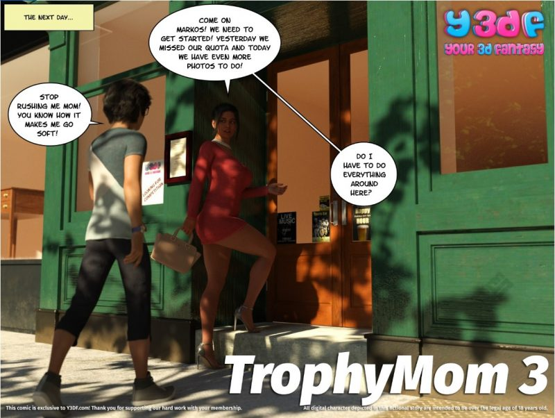 Y3DF – TrophyMom 3 - Complete
