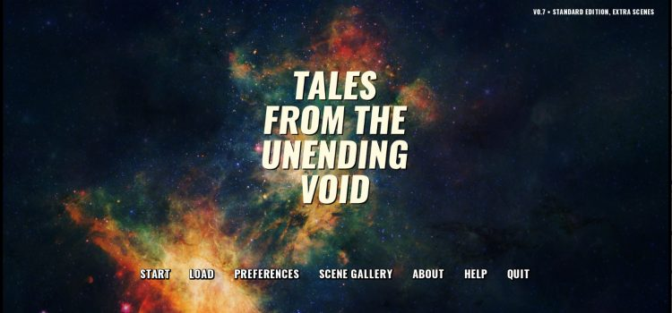 Tales From The Unending Void – Version 0.7.0 Extra Scenes