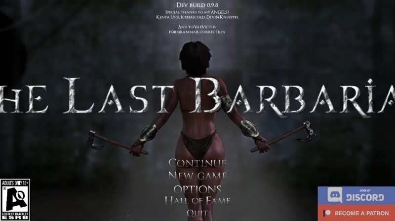 The Last Barbarian - Version 0.9.8