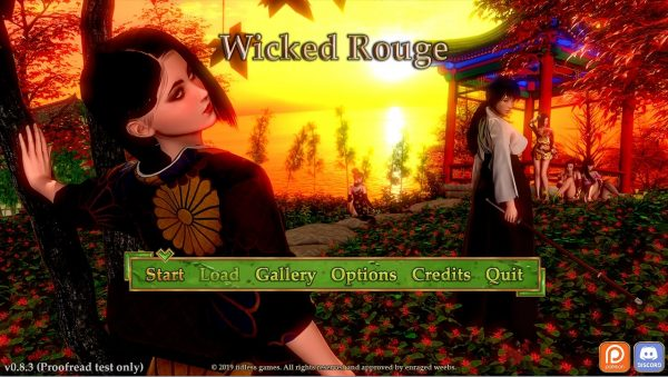 Wicked Rouge – v0.8.3 (Pc, Mac, Android)