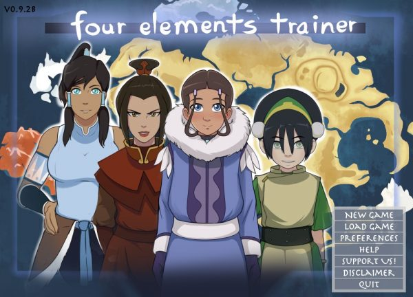 Four Elements Trainer - Version 0.9.2b